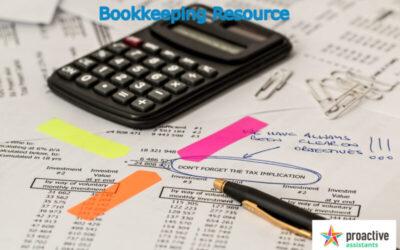 Bookkeeping Resource