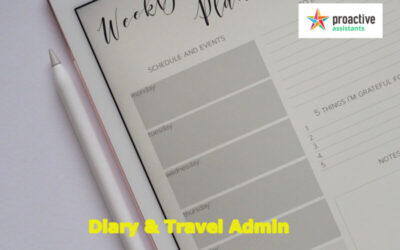 Diary & Travel Admin News