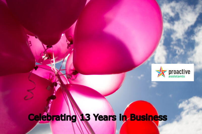 Proactive Assistants 13 Years in Business